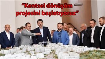 Bakan Kurum'dan Beyoğlu'nda dönüşüm müjdesi!