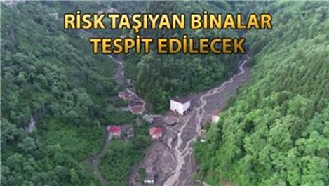 Trabzon'da dere yataklarında ev kalmayacak