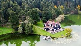 Gölcük Tabiat Parkı'ndaki bungalovlar satılıyor
