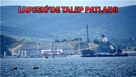 1915 Çanakkale Köprüsü yükselmeye başladı!