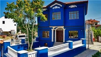 Denizli'deki 100 yıllık Mavi Konak restore edildi