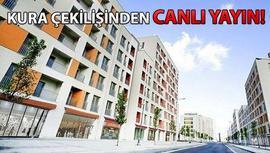 TOKİ İstanbul konutları için kura çekilişi başladı