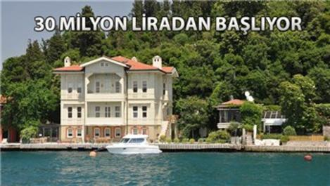 Boğaz'daki yalılara Ortadoğulu zenginlerden büyük ilgi!