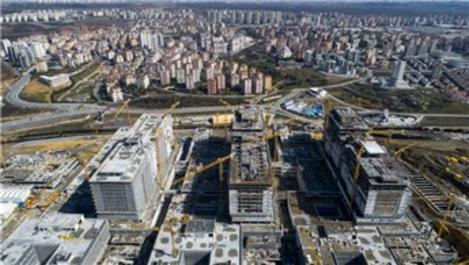Başakşehir Şehir Hastanesi'nin inşaatında sona yaklaşılıyor