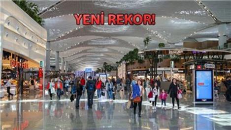 İstanbul Havalimanı'ndan 100 bin uçuş gerçekleştirildi