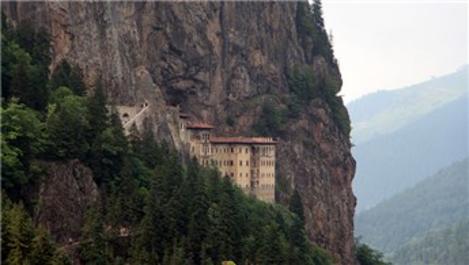 Sümela Manastırı'nı 1 ayda 50 bin kişi ziyaret etti