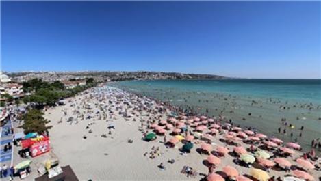Büyükçekmece 'İstanbul'un mükemmel plajları' arasına girdi