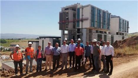 Yeni Vezirköprü Devlet Hastanesi inşaatı 6 ay sonra bitiyor