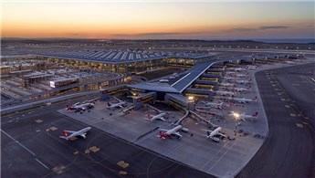 İstanbul Havalimanı'nın apronu havadan görüntülendi!