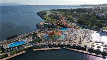 İstanbul'un en büyük su parkı Viaport Marina'da açıldı