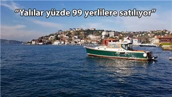 Eylül ayından beri İstanbul Boğazı'nda 7 yalı satıldı