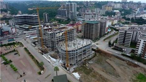 Büyük inşaat projelerinde Bayburt doğal taşı imzası