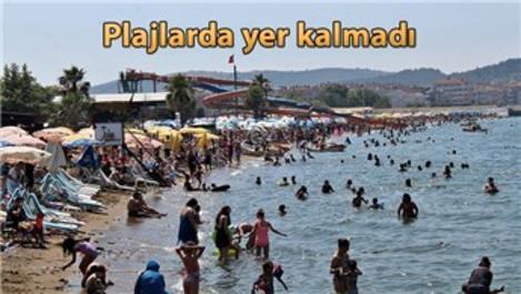 Yalova Çınarcık'a 400 bin turist geldi!