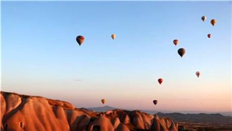 Kapadokya'yı ilk 6 ayda 1,5 milyon turist ziyaret etti