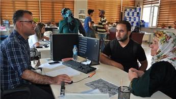 TOKİ'nin Yüksekova'daki konutlarında etap seçimleri başladı