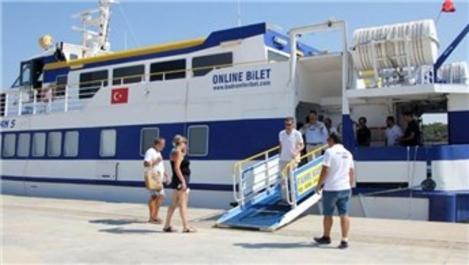 Didim - Kos Adası feribot seferleri başladı