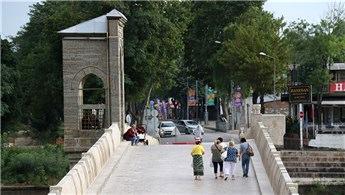 Edirne'deki tarihi Tunca Köprüsü restore ediliyor