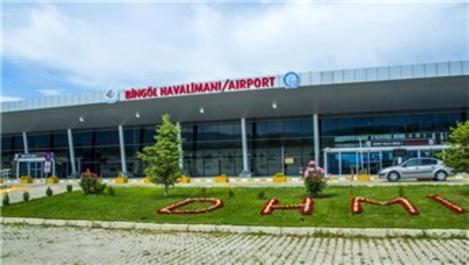 Bingöl Havalimanı haziran ayında 17 bin yolcuya hizmet verdi