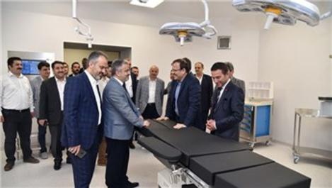 Bursa Şehir Hastanesi açılış için gün sayıyor