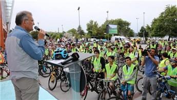 Beykoz'da pazar günleri yollar bisikletlilerin!