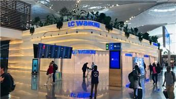İstanbul Havalimanı'ndaki LC Waikiki mağazasına 304 bin müşteri