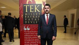 Bakan Kurum, 15 Temmuz şehit aileleri ile buluştu