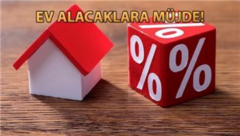 Konut kredisi faiz oranı yüzde 1,49'a düştü!
