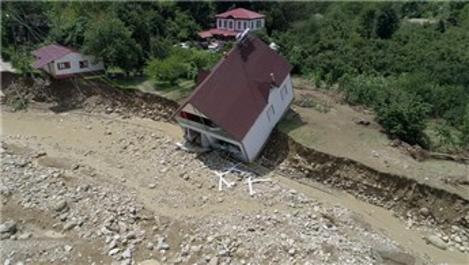Esmahanım Köyü'nde selin bıraktığı hasar çok büyük!