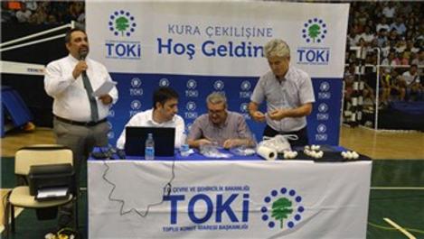 TOKİ İzmir Aliağa'da kuralar çekildi!