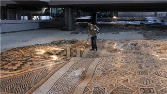 Dev mozaiğin yer aldığı müze otelde sona yaklaşıldı