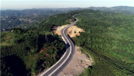 Ereğli-Zonguldak yolu hizmete açıldı