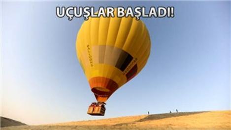 Sıcak hava balonları artık Mardin'de!
