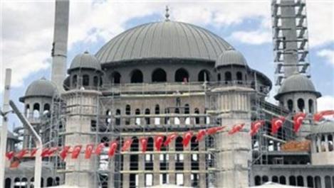 Taksim Camisi'nin yüzde 97'si tamamlandı