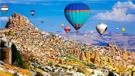 Kapadokya'ya gelen turist sayısı yüzde 85 arttı