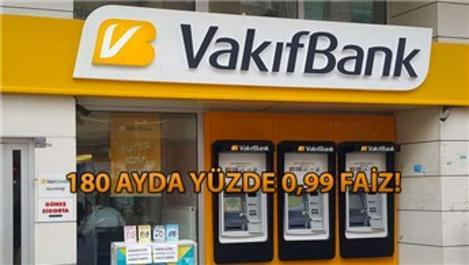 Vakıfbank da konut kredisi faiz oranını indirdi!