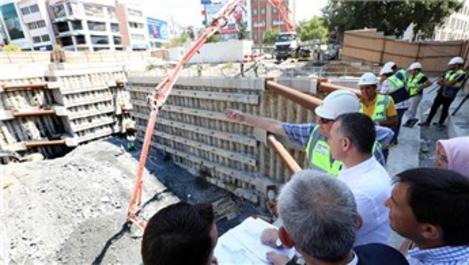 Gebze–Darıca metro hattında çalışmalar sürüyor