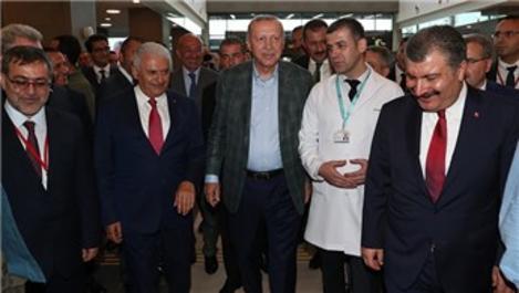 Bursa Şehir Hastanesi'ni Başkan Erdoğan hizmete açtı
