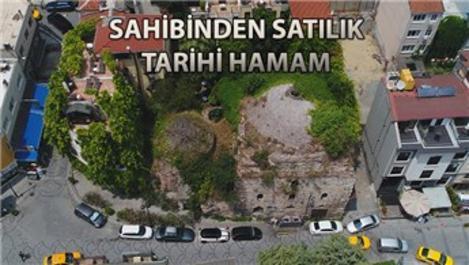 550 yıllık İshak Paşa Hamamı 3,5 milyon dolara satışta!