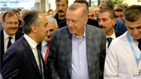 Cumhurbaşkanı'ndan Bursa'nın ulaşım projelerine destek sözü