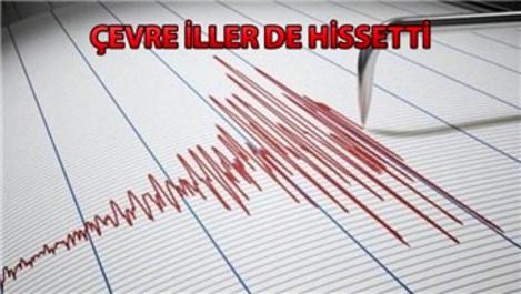 Denizli'de 6,0 büyüklüğünde deprem!
