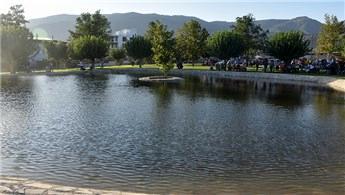 Aydın'ın ilk Millet Bahçesi ziyarete açıldı