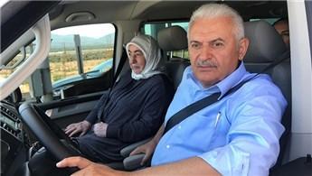 Yıldırım, İstanbul-İzmir Otoyolu'nda direksiyona geçti