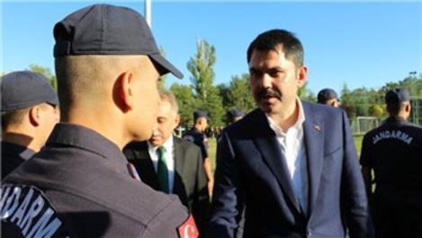 Bakan Kurum, bayramın ilk gününü Konya'da geçirdi