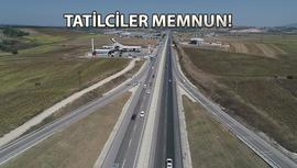 İstanbul-İzmir otobanı trafiği yarı yarıya azalttı