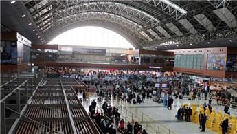 Sabiha Gökçen Havalimanı bayramda 1 milyon yolcu ağırladı