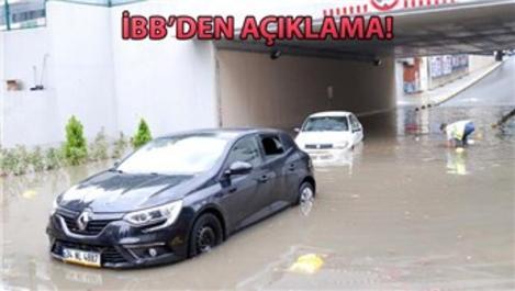 'Şile ve Kadıköy'de metrekareye 40 kg yağış düştü'