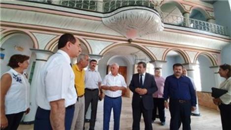 Soma Damgacı Camisi restore ediliyor