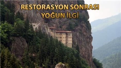 Sümela Manastırı'nı 2 ayda 116 bin 525 kişi ziyaret etti!