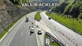 Anadolu Otoyolu, 27 günlüğüne kapanıyor!