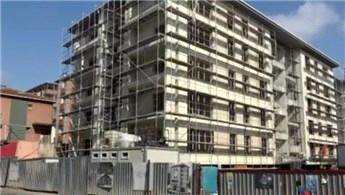 Kartal'da çöken binanın yerine yapılan binalar tamamlandı